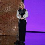 María Casado en la gala de los Premios Goya 2020