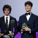 Javier Ambrossi y Javier Calvo en los Premios Goya 2020