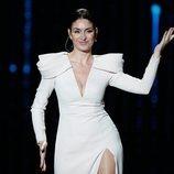 """Celia Flores interpretando """"Estando contigo"""" en los Premios Goya 2020"""