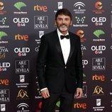 Fernando Tejero en la alfombra roja de los Premios Goya 2020
