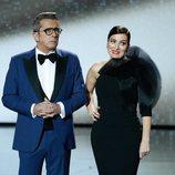 Silvia Abril y Andreu Buenafuente en la gala de los Premios Goya 2020