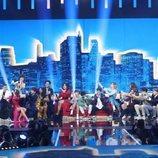 Actuación grupal en la Gala 2 de 'OT 2020'