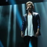 Nick canta en solitario en la Gala 2 de 'OT 2020'