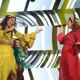 Nia y Anaju cantan juntas en la Gala 2 de 'OT 2020'