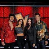 Sebastián Yatra, Tini, Mala Rodríguez y Carlos Rivera, asesores de 'La Voz 2020'