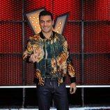 Carlos Rivera, asesor de Laura Pausini en 'La Voz 2020'