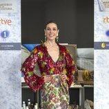 Raquel Sánchez Silva posa en la presentación de 'Maestros de la costura 3'
