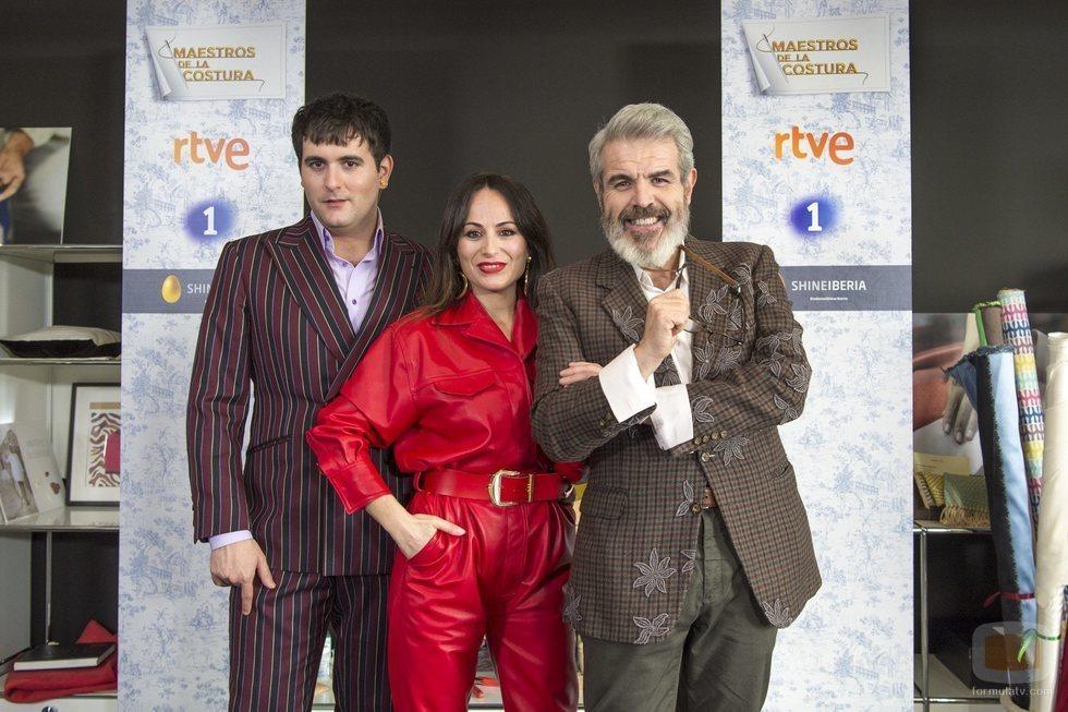 Palomo Spain, María Escoté y Lorenzo Caprile, jurado de 'Maestros de la costura 3'