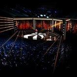 El escenario del Melodifestivalen 2020