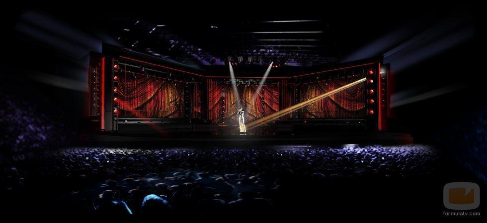 Melodifestivalen 2020 presenta el diseño de su escenario