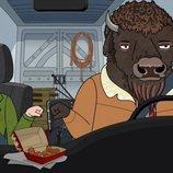 Diane y Guy en la temporada final de 'BoJack Horseman'