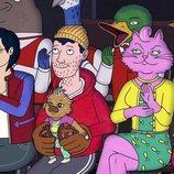 Diane, Todd y Princess Carolyn en la temporada final de 'BoJack Horseman'