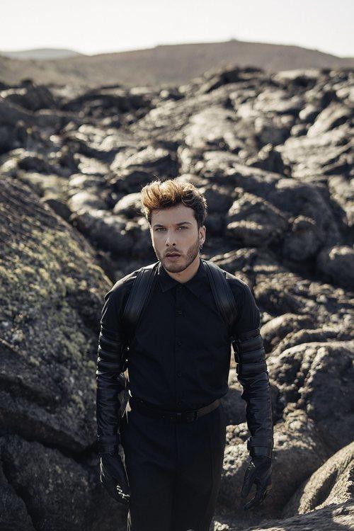 """Blas Cantó rodando el videoclip de """"Universo"""" para Eurovisión 2020"""