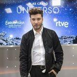 Blas Cantó en la rueda de prensa de RTVE de Eurovisión 2020