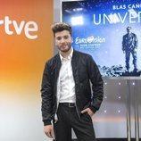 "Presentación de ""Universo"", la canción de Blas Cantó en Eurovisión 2020"