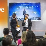 "Julia Varela y Blas Cantó presentan ""Universo"" antes de Eurovisión 2020"