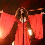 Cristina Ramos como Shakira en la Gala 4 de 'Tu cara me suena 8'