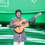 Javi Cantero se convierte en Peret en la Gala 4 de 'Tu cara me suena 8'