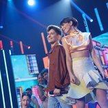 Nick y Maialen en la Gala 3 de 'OT 2020'