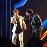 Javy y Jesús en la Gala 3 de 'OT 2020'