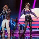 Bruno y Anne en la Gala 3 de 'OT 2020'