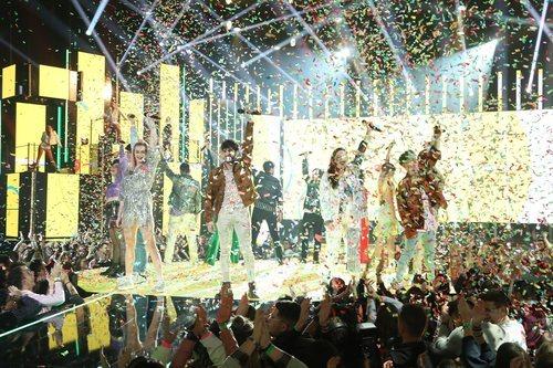 """Todos los concursantes cantan """"Besos"""" en la Gala 3 de 'OT 2020'"""