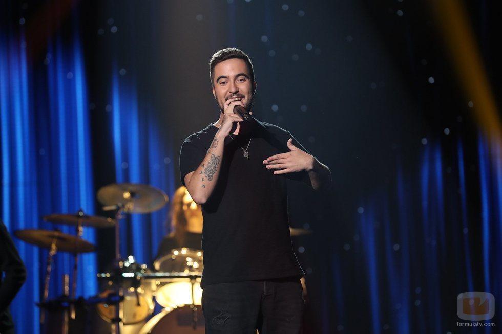 """Beret canta """"Si por mí fuera"""" en la Gala 3 de 'OT 2020'"""