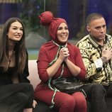 Estela Grande, Anabel Pantoja y Dinio en la Gala 4 de 'El tiempo del descuento'