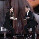 Estela Grande y Jorge Javier Vázquez en la Gala 4 de 'El tiempo del descuento'