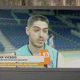 Edgard Vicedo, jugador de baloncesto del Movistar Estudiantes en la tercera temporada de 'Vergüenza'