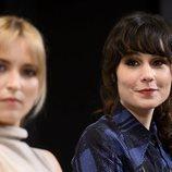 Ana Fernández y Nadia de Santiago en la presentación de 'Las chicas del cable 5'