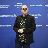 Carlos Areces ('El pueblo') en la presentación del acuerdo entre Amazon y Mediaset España