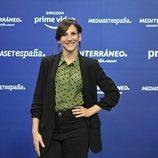 Malena Alterio ('Señoras del (h)AMPA') en la rueda de prensa de Amazon y Mediaset España