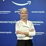 Belén Rueda ('Madres') en la presentación del acuerdo entre Mediaset España y Amazon
