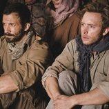 Jero y Toni, durante su secuestro en el 20x16 de 'Cuéntame cómo pasó'