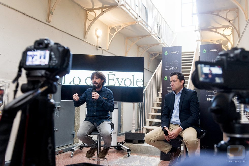 Jordi Évole en la rueda de prensa de 'Lo de Évole'