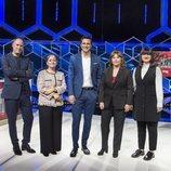 Erundino Alonso, Paz Herrera, Ion Aramendi, Ruth de Andrés y Lilit Manukyan en 'El cazador'