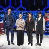 Erundino Alonso, Paz Herrera, Ruth de Andrés y Lilit Manukyan en 'El cazador'