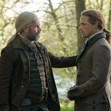 Murtagh y Jamie Fraser en en la quinta temporada de 'Outlander'
