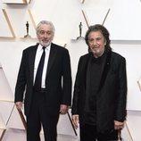 Robert de Niro y Al Pacino posan en la alfombra roja de los Oscar 2020