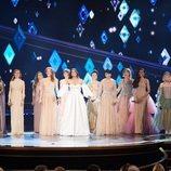 """Gisela, Idina Menzel y el resto de """"Elsas"""" posan tras su actuación en la gala de los Oscar 2020"""