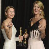 Renée Zellweger y Laura Dern, ganadoras del Oscar 2020 a Mejor Actriz