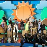 """Los concursantes cantan """"Díselo a la vida"""" en la Gala 4 de 'OT 2020'"""