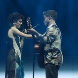 Anne y Gèrard, en la Gala 4 de 'OT 2020'