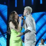 Eva y Hugo, juntos en la Gala 4 de 'OT 2020'