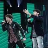 Jesús y Rafa cantan en la Gala 4 de 'OT 2020'
