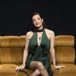 Adara, sonriente en la Gala 5 de 'El tiempo del descuento'