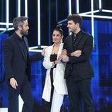 Roberto Leal acompaña a Anaju y Javy, nominados de la Gala 4 de 'OT 2020'