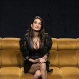 Estela Grande en el sofá, en la Gala 5 de 'El tiempo del descuento'