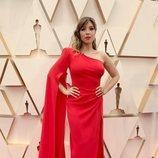 Gisela posa en la alfombra roja de los Premios Oscar 2020